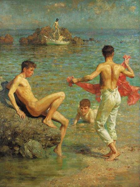 Gleaming Waters, 1910 - Henry Scott Tuke
