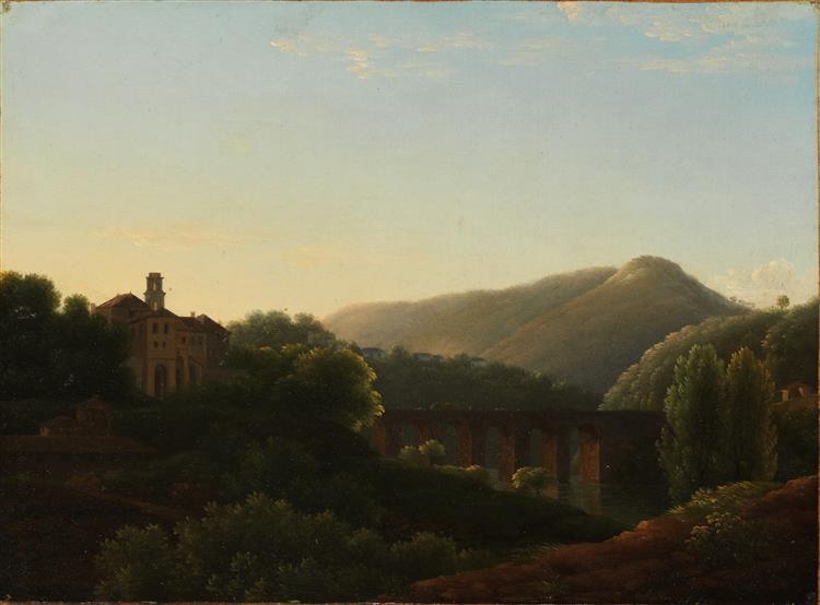 Le Pont De La Cava, Royaume De Naples - Jean-Joseph-Xavier Bidauld