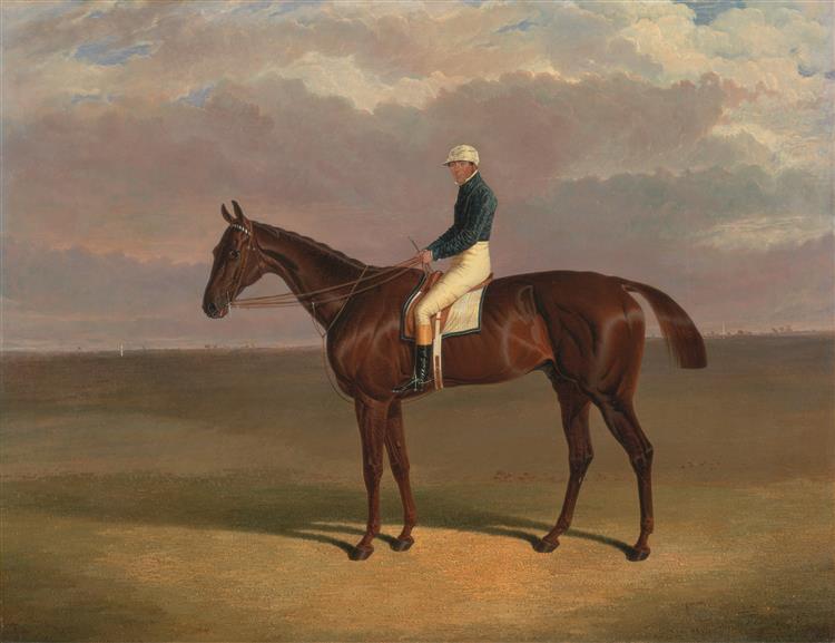 'Margrave' with James Robinson Up, 1833 - John Frederick Herring Sr.
