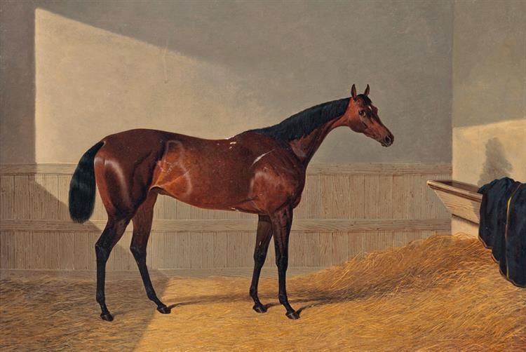 The Duke of Grafton's Oxygen, Winner of the Oaks - John Frederick Herring Sr.