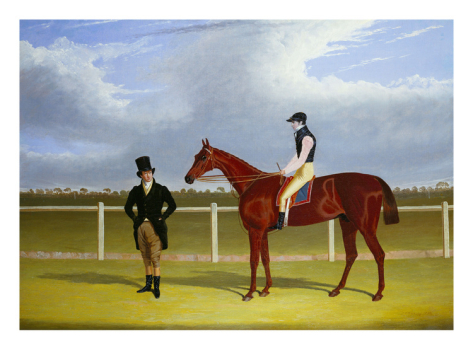 British Racehorse Rowton - John Frederick Herring Sr.
