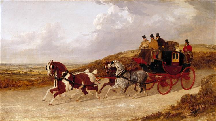 The Edinburgh and London Royal Mail - John Frederick Herring Sr.
