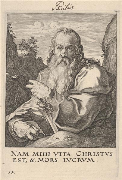 St. Paul, c.1589 - Hendrick Goltzius
