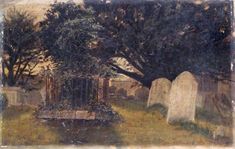 Wordsworth's Grave, c.1870 - Laslett John Pott