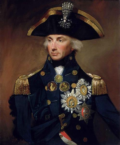 Rear-admiral Sir Horatio Nelson, 1799 - Lemuel Francis Abbott