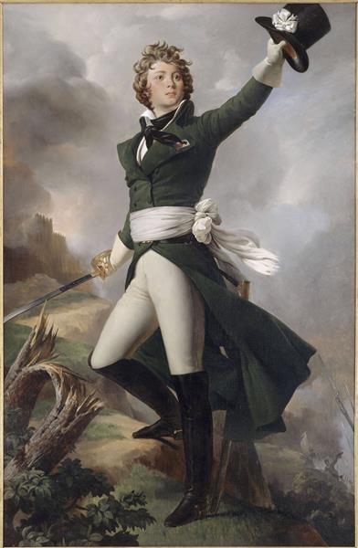 Antoine-philippe De La Trémoille, Prince De Talmont, 1826 - Léon Cogniet