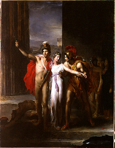 Hélène Délivrée par Castor et Pollux, 1817 - Léon Cogniet