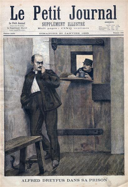 Alfred Dreyfus Dans Sa Prison, 1895 - Lionel Noel Royer