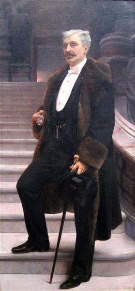 Portrait of Comte D'Adhémar De Cransac, 1890 - Lionel Noel Royer
