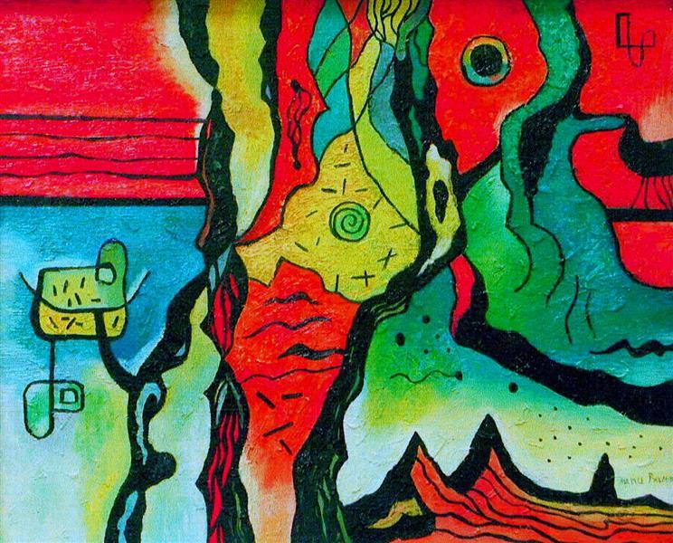 Movement of Galaxies, 2000 - Nina Tokhtaman Valetova