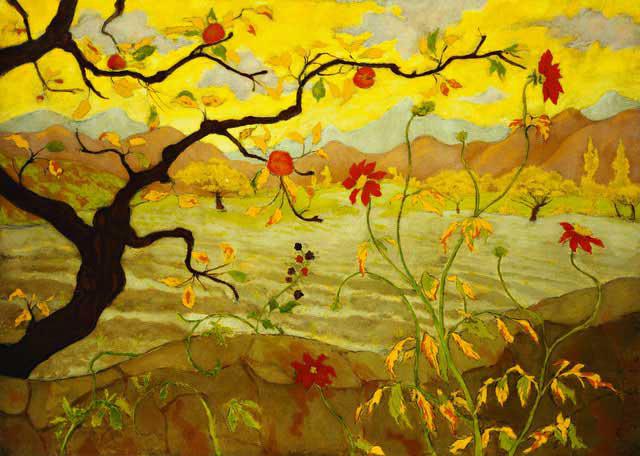 Pommier Aux Fruits Rouges, 1902 - Paul Ranson