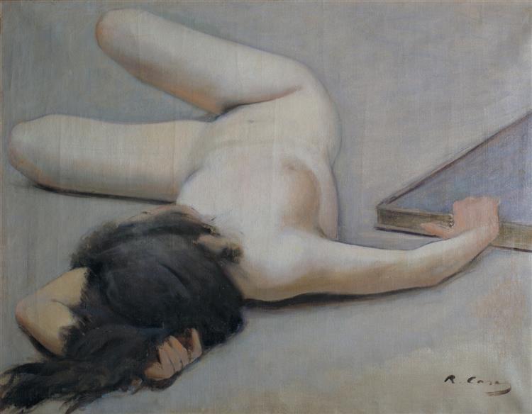 Female Nude - Ramon Casas