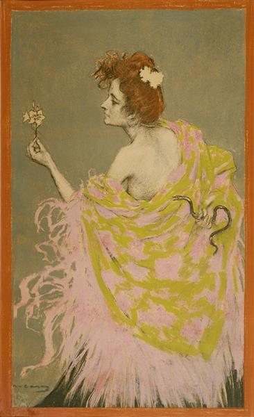 Original Design for the Poster 'sífilis - Ramon Casas