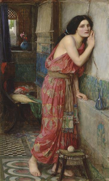 Thisbe, 1909 - John William Waterhouse
