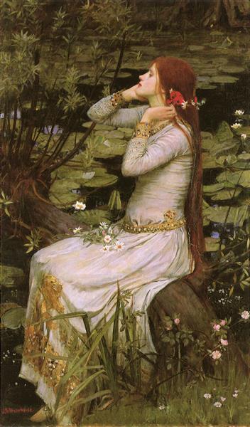 Ophelia, 1894 - John William Waterhouse