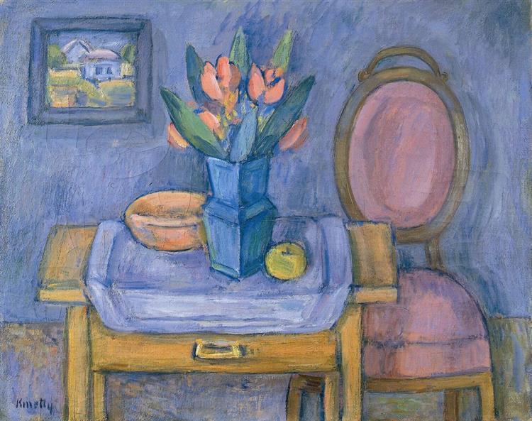 Big Still Life with Flowers, 1937 - Kmetty János