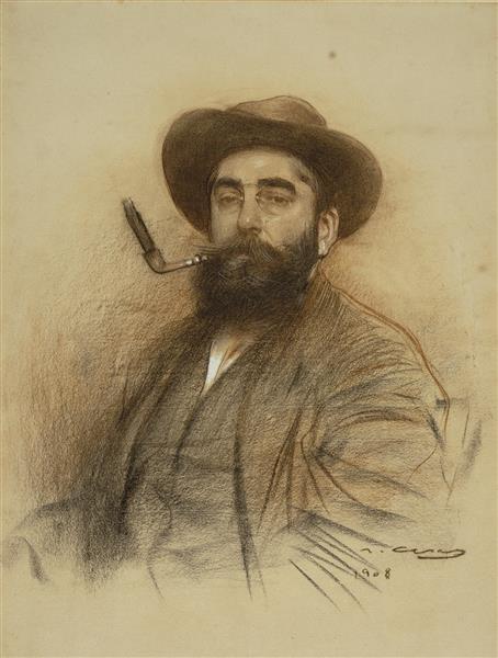 Self-portrait - Ramon Casas