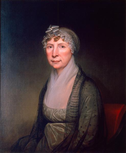 Portrait of Cornelia Van Horn Lansdale, c.1820 - Rembrandt Peale