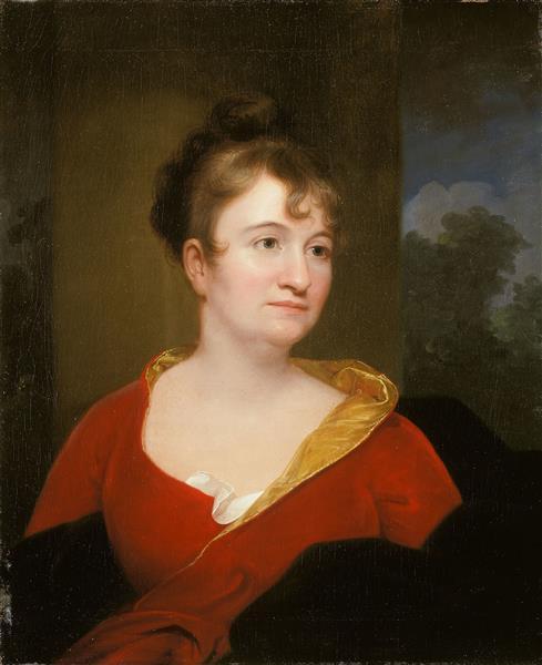 Abigail Inskeep Bradford - Rembrandt Peale
