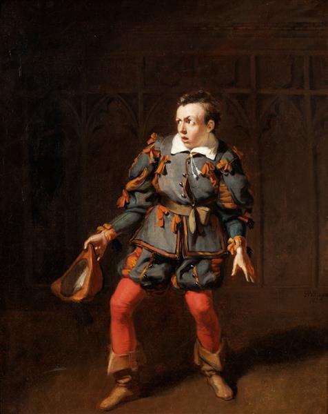 J. B. Buckstone as Spado in 'The Castle of Andalusia' by John O'Keefe, Haymarket Theatre, 1833 - Robert William Buss