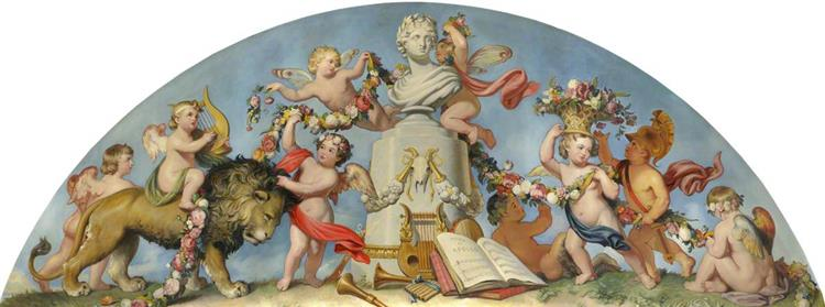 The Triumph of Music, 1845 - Robert William Buss