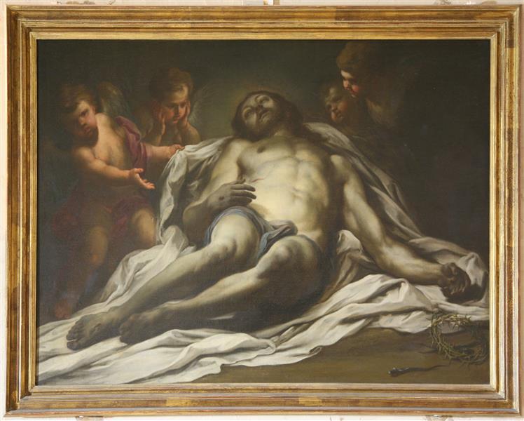 Dead Christ - Sebastiano Conca
