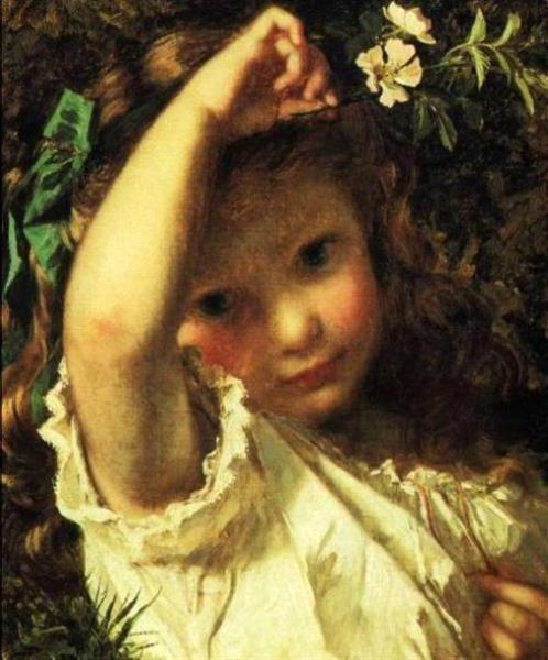 Peek a Boo - Sophie Gengembre Anderson