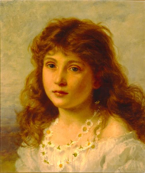 Young Girl - Sophie Gengembre Anderson