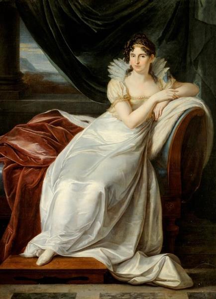 Princess Alexandra A. Dietrichstein, nee Shuvalova, 1800 - Vincenzo Camuccini
