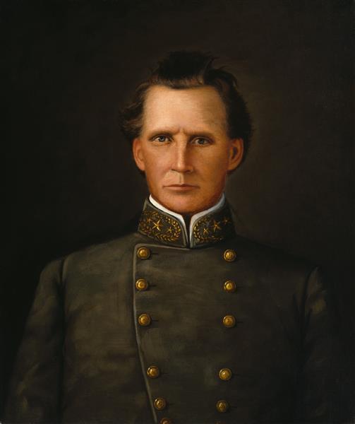Portrait of Brigadier General Joseph Lewis Hogg - William Henry Huddle