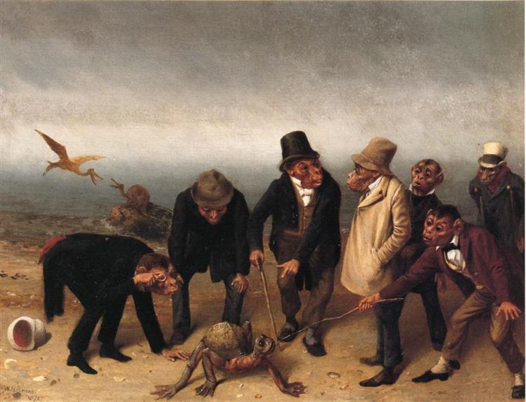 Discovery of Adam, 1891 - William Holbrook Beard