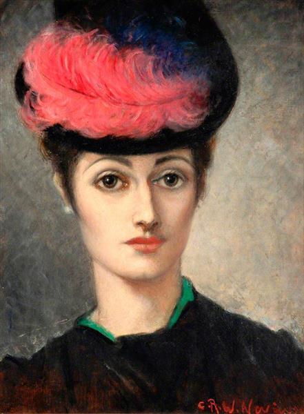 Elizabeth Darley, c.1900 - C. R. W. Nevinson