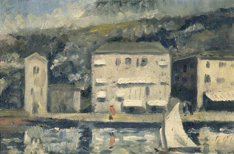 French Landscape, 1940 - C. R. W. Nevinson