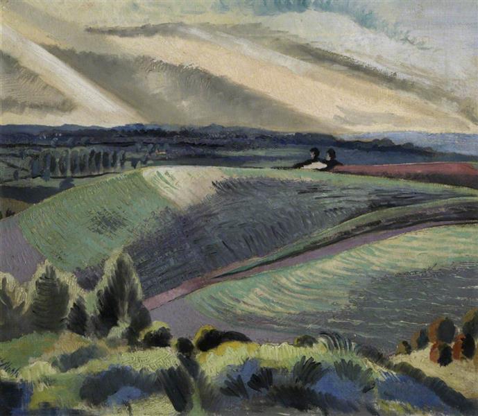 Cotswold Hills, 1920 - Paul Nash