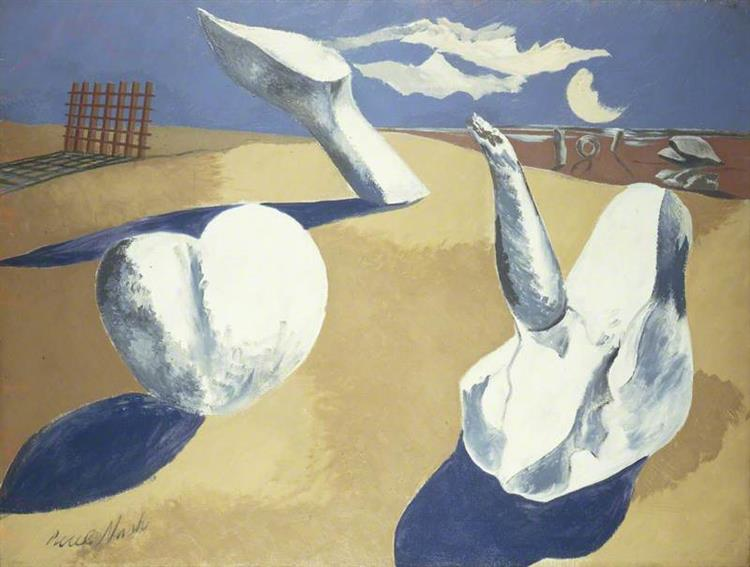 Nocturnal Landscape, 1938 - Paul Nash