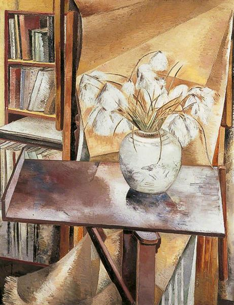 Still Life with Bog Cotton, 1927 - Paul Nash