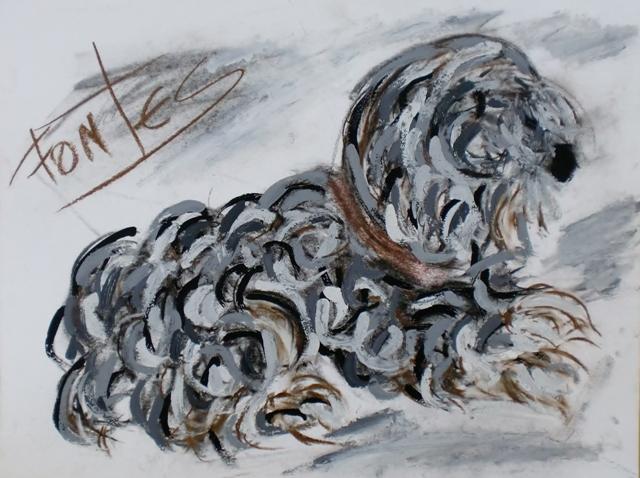 Uma Cadela XIV, 2012 - Paulo Fontes