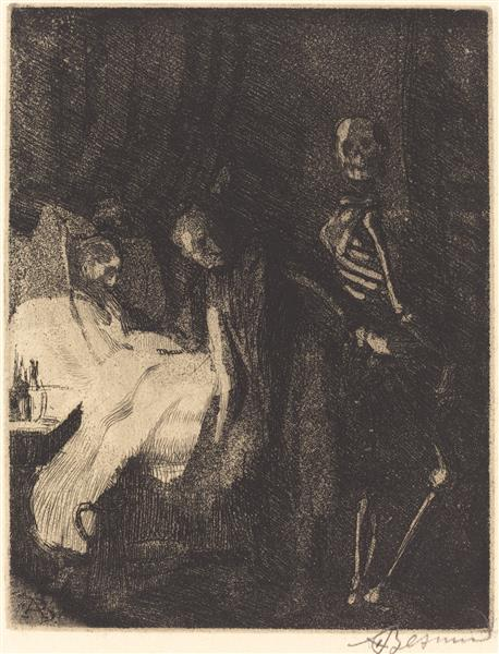 Importunate, 1900 - Paul-Albert Besnard