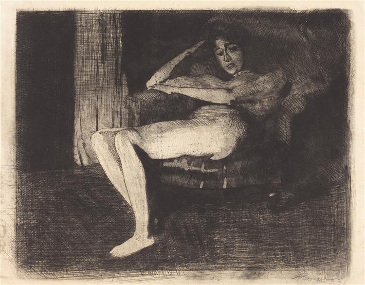 Intimate Fantasy, 1901 - Paul-Albert Besnard