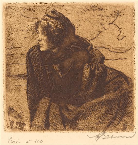 Melancholy (mélancolie), 1888 - Paul-Albert Besnard