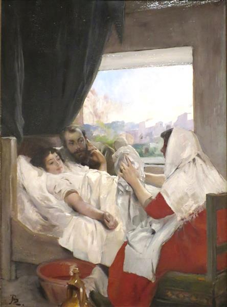 The First Morning, 1881 - Paul-Albert Besnard
