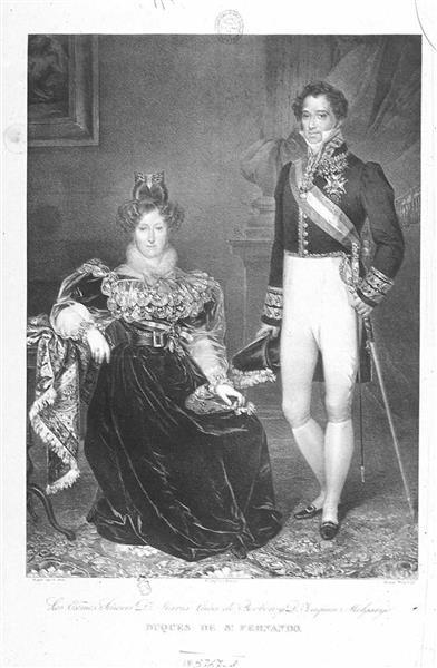 Retrato De Joaquín José Melgarejo Y Saurín, 1843 - Rosario Weiss Zorrilla