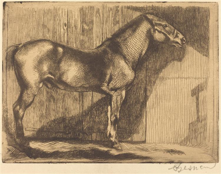 Pony, 1892 - Paul-Albert Besnard