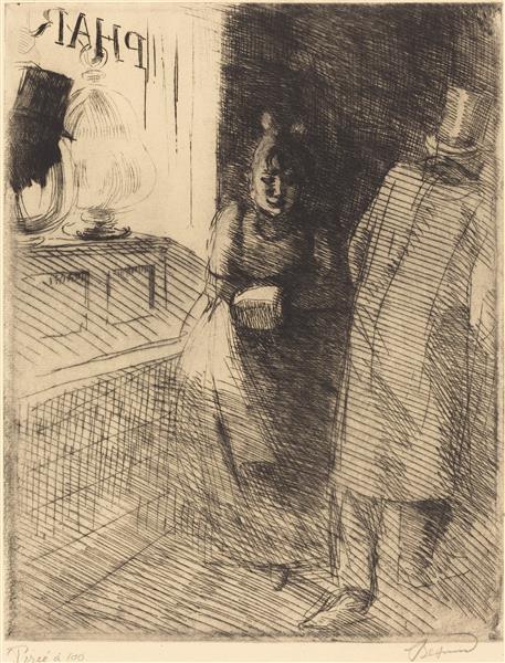 Prostitution, c.1886 - Paul-Albert Besnard