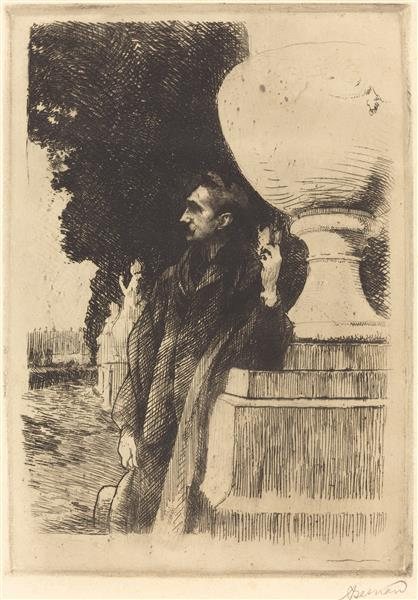 Robert De Montesquiou, 1899 - Paul-Albert Besnard
