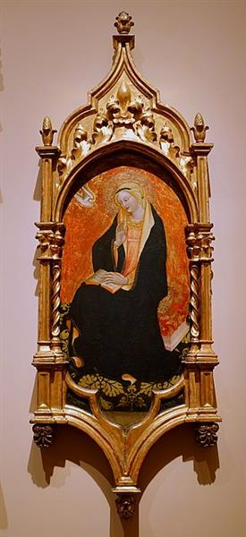 Virgin of Annunciation, c.1420 - Álvaro Pires de Évora