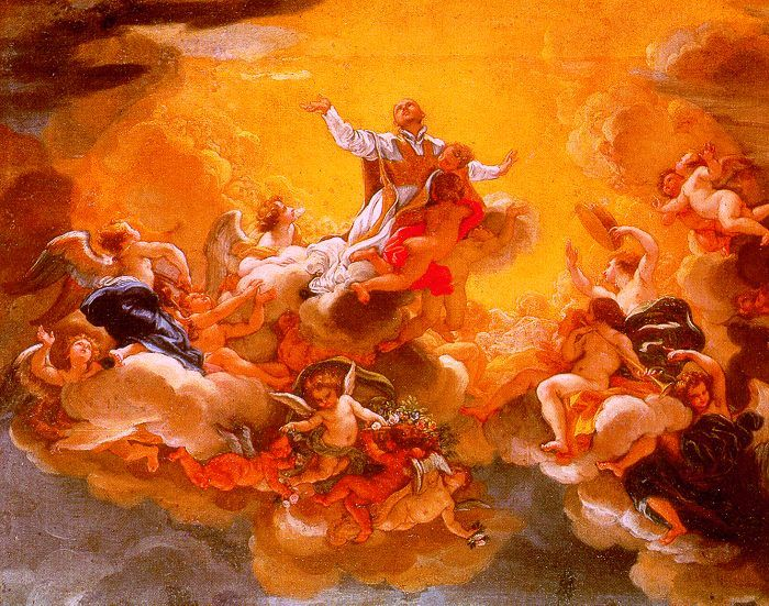 The Apotheosis of St. Ignatius, 1685 - Giovanni Battista Gaulli