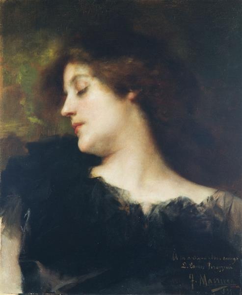 Bust de dona, c.1897 - Francesc Masriera