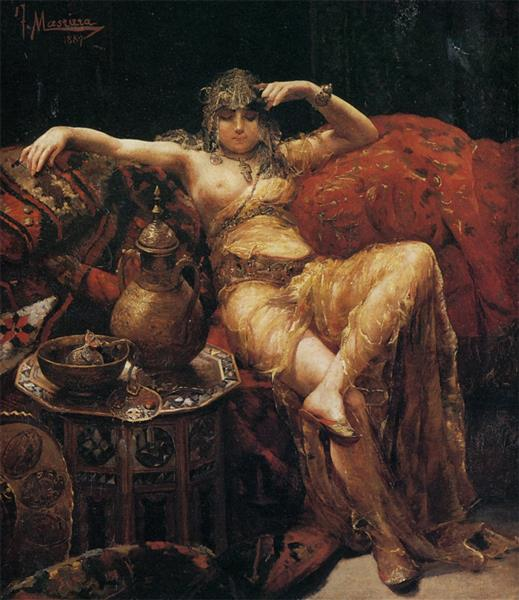 Harem Girl, c.1890 - Francesc Masriera