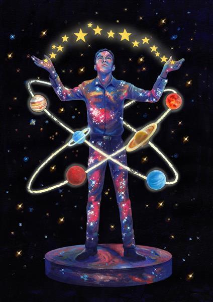 Cosmic Union of Cometan, 2019 - David Young
